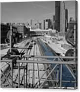 Chicago Amtrak Canvas Print