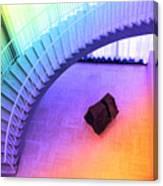 Chicago Art Institute Staircase Pa Prismatic Canvas Print