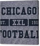 Chicago Bears Retro Shirt Canvas Print