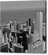 Chicago Birdview Canvas Print