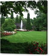 Chicago Botanical Gardens Landscape Canvas Print