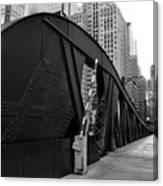 Chicago Bridge  Canvas Print