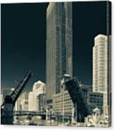 Chicago Bridges-2 Canvas Print