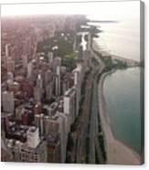 Chicago Coastline Canvas Print
