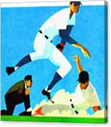 Chicago Cubs 1970 Program Canvas Print