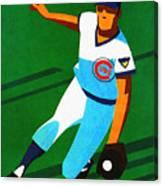 Chicago Cubs 1972 Official Program Canvas Print