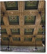 Chicago Cultural Center Staircase Ceiling Canvas Print