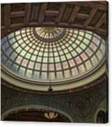 Chicago Cultural Center Tiffany Dome 01 Canvas Print