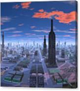 Chicago Daytime Image Canvas Print