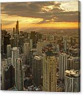 Chicago Evenings 2 Canvas Print