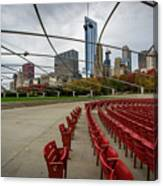 Chicago From Pritzker Canvas Print