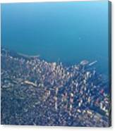 Chicago From Way Up Canvas Print