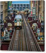 Chicago L Canvas Print