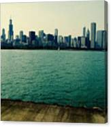Chicago Lake Michigan Skyline Canvas Print