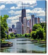 Chicago Lincoln Park Lagoon Canvas Print