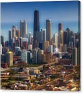 Chicago Looking East 01 Canvas Print