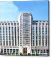 Chicago Merchandise Mart South Facade Canvas Print