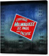 Chicago Milwaukee St. Paul And Pacific Canvas Print