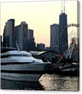 Chicago Navy Pier Canvas Print