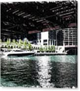Chicago Parked On The River In June 03 Pa 01 Canvas Print