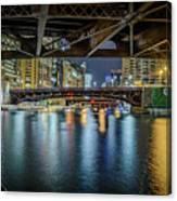Chicago River Hd Canvas Print