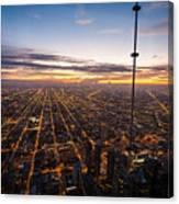 Chicago Skies Canvas Print