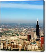 Chicago Skyline - 1990s Canvas Print