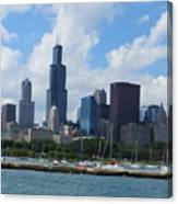 Chicago Skyline 7 Canvas Print