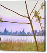 Chicago Skyline - The View From Montrose Point Canvas Print
