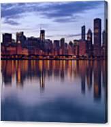 Chicago Skyline March 2009 Canvas Print