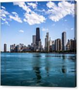 Chicago Skyline Photo With Hancock Building Canvas Print