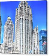 Chicago The Gothic Tribune Tower Canvas Print