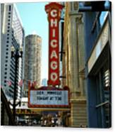 Chicago Theater - 1 Canvas Print