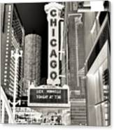 Chicago Theater - 2 Canvas Print