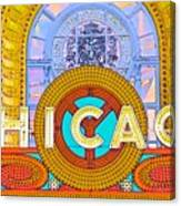 Chicago Theatre Canvas Print