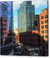 Chicago Train Canvas Print