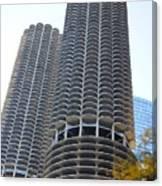 Chicago Twin Corn Cob Building  Canvas Print