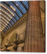Chicago Union Station Column Canvas Print