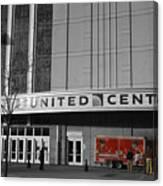 Chicago United Center Signage Sc Canvas Print