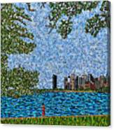 Chicago - View From Lakefront Trail Canvas Print