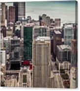 Chicago Views Canvas Print