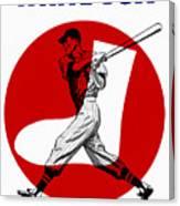 Chicago White Sox 1960 Scorebook Canvas Print