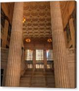 Chicagos Union Station Entry Canvas Print