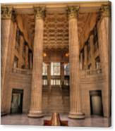 Chicagos Union Station Waiting Hall Canvas Print