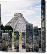 Chichen Itza 3 Canvas Print