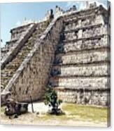 Chichen Itza Mexico 4 Canvas Print