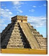 Chichen Itza Pyramid Canvas Print