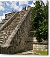 Chichen Itza Pyrmid 1 Canvas Print