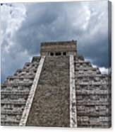 Chichen-itza Pyrmid In Mexico Canvas Print