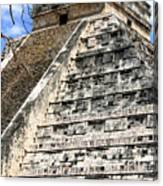 Chichen Itza Up Close Canvas Print